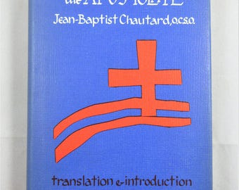 The Soul of the Apostolate (Hardcover Book 1958) by Jean-Baptist Chautard, intro by Thomas Merton