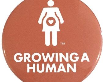 Growing a Human Pregnancy Pin