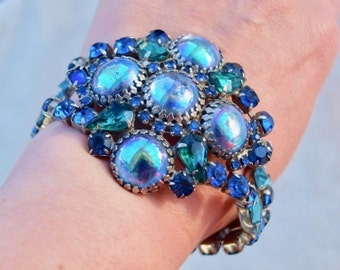 Super Massive Blue Aurora Borealis  Julianna? Bracelet