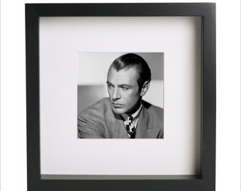 Gary Cooper photo print | Use in IKEA Ribba frame | Looks great framed for gift | Free Shipping | #4