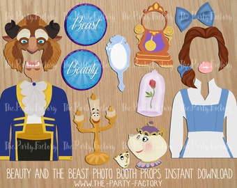 Unofficial Beauty  the Beast Photo Props Beauty and the
