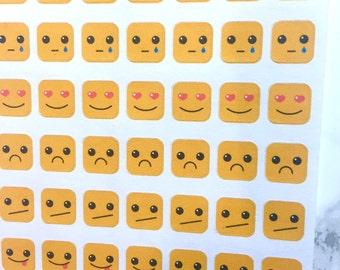 SALE!! Emoji Inspired Planner Stickers