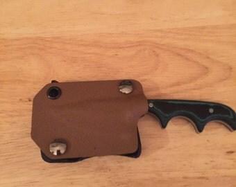 CRKT minimalist bowie knife sheath. (knife not included)