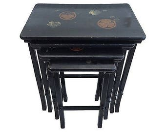 Japanese Nesting Tables (set of four)