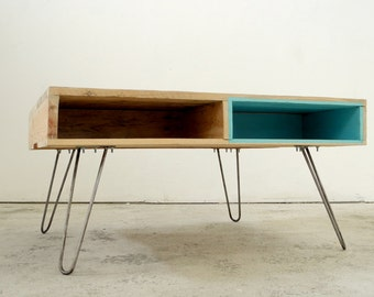 Pied table basse etsy - Table basse pied epingle ...