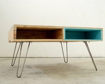 pied table basse etsy. Black Bedroom Furniture Sets. Home Design Ideas