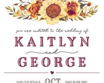 Kaitlyn and George Autumn Love