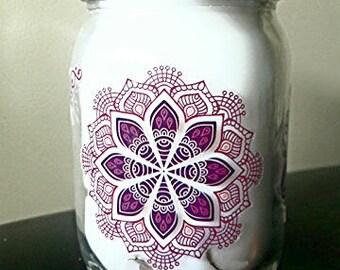 Handmade Lavender Candle