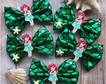 The Little Mermaid inspired Bows