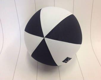 Balloon Ball Fabric, Balloon Ball Cover, Portable Ball, Travel Ball, Inflatable, Sensory, Special Needs, Black White, Eumundi Kids