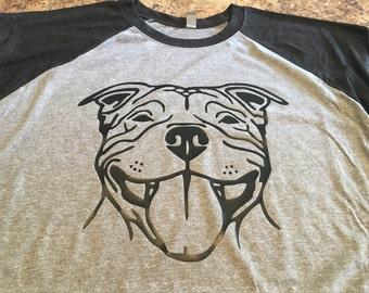 Pit Bull Raglan tshirt