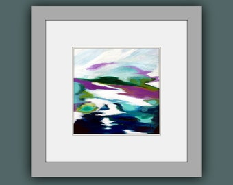 Fine Art Prints, Abstract Art Print, Square Print, Contemporary  Painting, Print Art, Modern Abstract Art