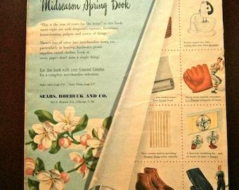 1947 Sears Mid-Season Spring Catalog