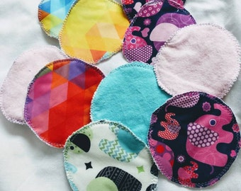 Set of 4 pads of breastfeeding