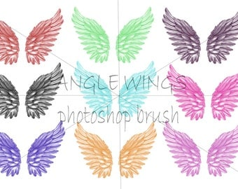 Angel Wing photoshop brush