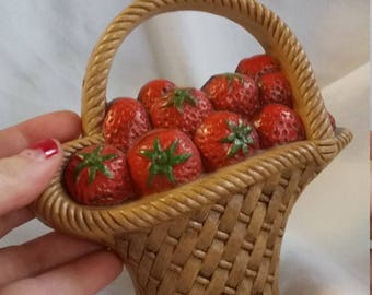 Strawberry wall hanging