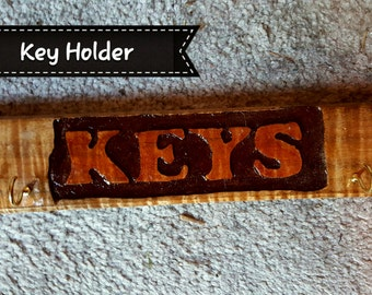 Hand crafted key organizer