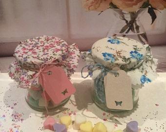 Jo Malone Inspired Perfume Fragranced Soy Wax Melts - Jam Jar with 50 Mini melts
