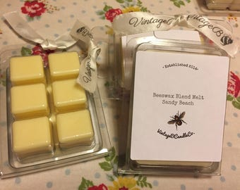 Scented Wax Melts | Scented Wax Cubes | Beeswax Soy Wax Blend |