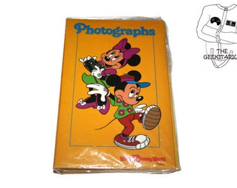 Vintage Disney Walt Disney World Mickey and Minnie Mouse photo album