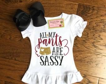 Sassy Pants Shirt