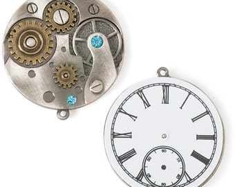 40mm Simulated Watch Movement Pendant (STEAM082)