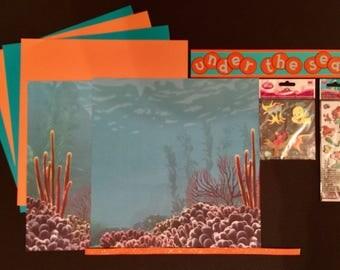 Under the Sea Scrapbooking Kit