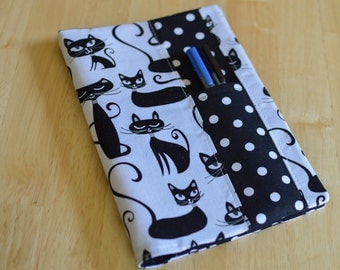 Planner Cover - Happy Planner or Erin Condren Sassy Cat and Polka Dot