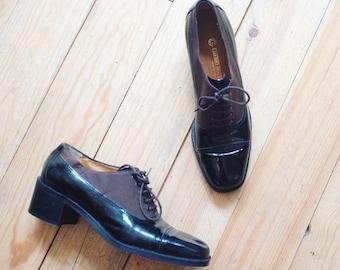 Vintage boho hippie loafers shoes pumps eur 37