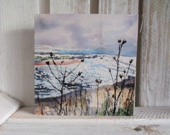 Kinshaldy Beach Seascape / Beachscape **Free postage on this card to UK & Europe**