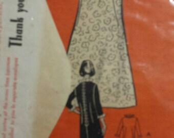 1960's Anne Adams Mil Order Pattern, sz 12, Dress 4629