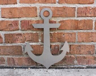Anchor Metal Wall Decor