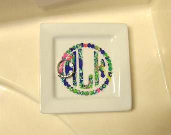Lilly Ring Dish
