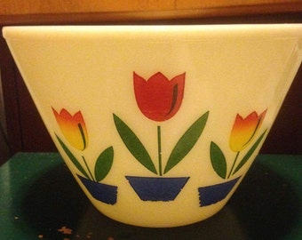 Fire King Tulip Bowl