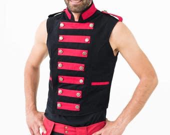 Major Dom : Circus Ringmaster Reversible Vest