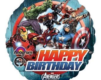 Avengers birthday party decoration, avengers balloons, iron man decoration, hulk decoration, Captain America balloon, Thor Balloon