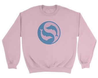 Dolphin Ying Yang Sweatshirt