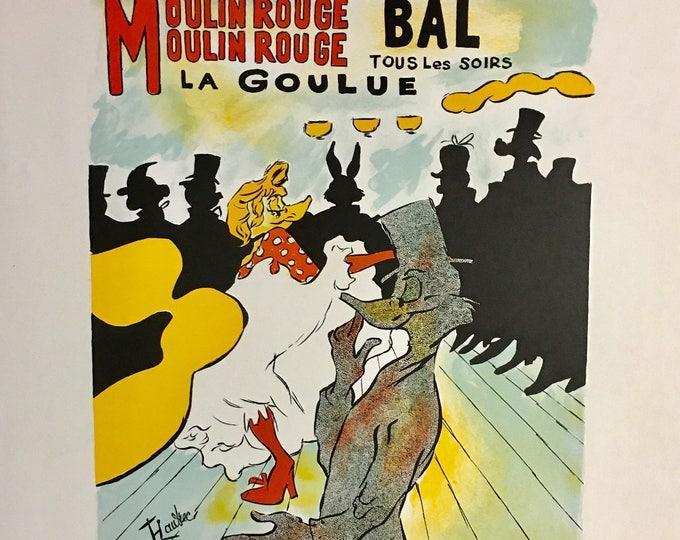 Chuck Jones, La Goulue, Moulin Rouge Daffy, Ltd Ed, Signed