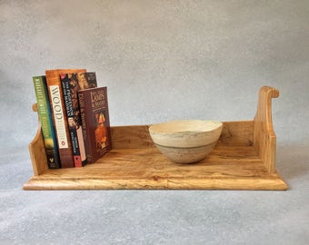 Display Shelf, Figured Maple, Book Shelf, Book Rack