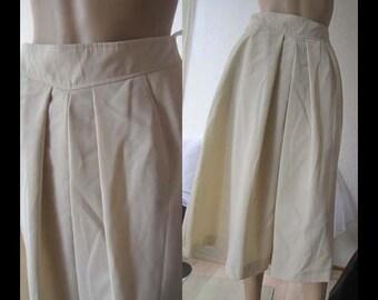 Vintage skirt rock wool Hamada high waist S