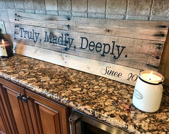 Truly, Madly, Deeply sign