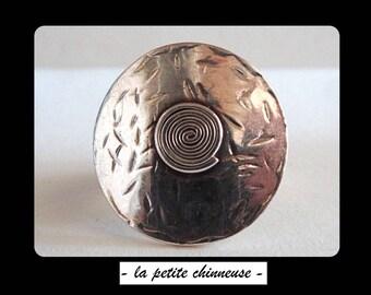 french VINTAGE RING. Vintage Ring Sterling Silver. Silver Vintage ring.