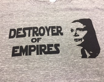 Destroyer of Empires General Leia Organa T-shirt