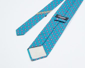 CHANEL - silk necktie