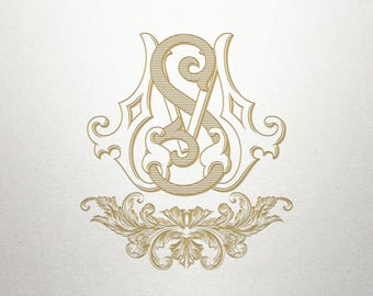 Ornamental Scroll Design  - Acropolis -  Scroll Design - Digital