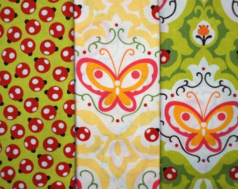 Oops-A-Daisy by Keiki for Moda Fabrics - Quarter Yard Bundle - 3 pieces