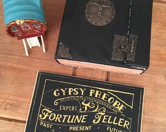 Crystal ball & pendulum reading-5 questions-Gypsy-PDF
