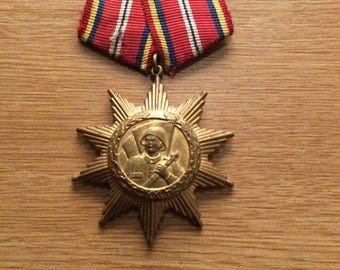Romainia 20 Years Armed Forces Medal 1944-1964