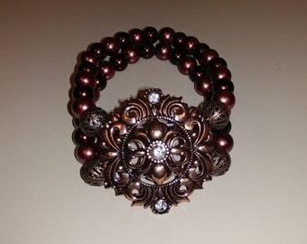 Double stranded bracelet