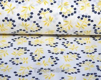 Glorima Blue Flowers-150 cm wide